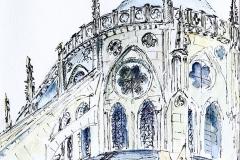 Bourges Fr., 16x22 cm