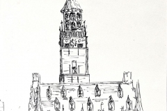 Stadhuis Vere, 19x27 cm