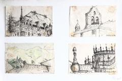 St. de C. - reisblad, 65x50 cm