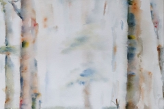Bosgezicht - nat in nat, 30x40 cm
