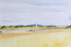 Mon landschap- DK, 27x19 cm