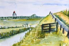 Westfriese Omringdijk, 38x28 cm