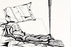 Bed met schroef, 30x40 cm