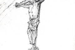 Crucifix Laon Fr., 20x26 cm