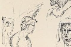 Jacobus + 2 beelden, 16x26 cm