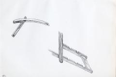 tekening stoelonderdelen